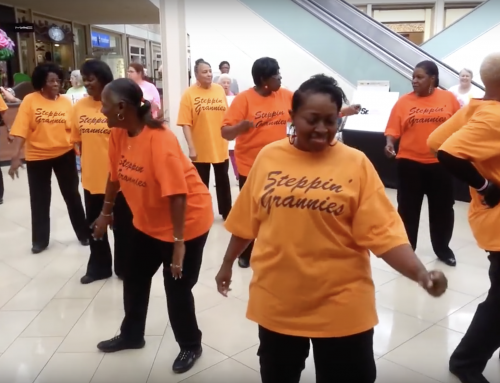Steppin' Grannies Groove to Good Health