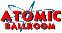 ATOMIC Ballroom | Irvine and Fullerton, CA in Orange County (OC) Logo